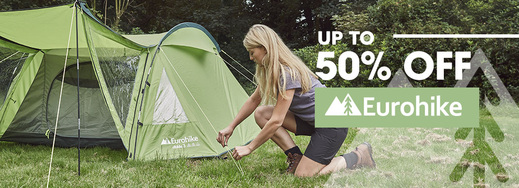Up To 50% Off Eurohike Tents