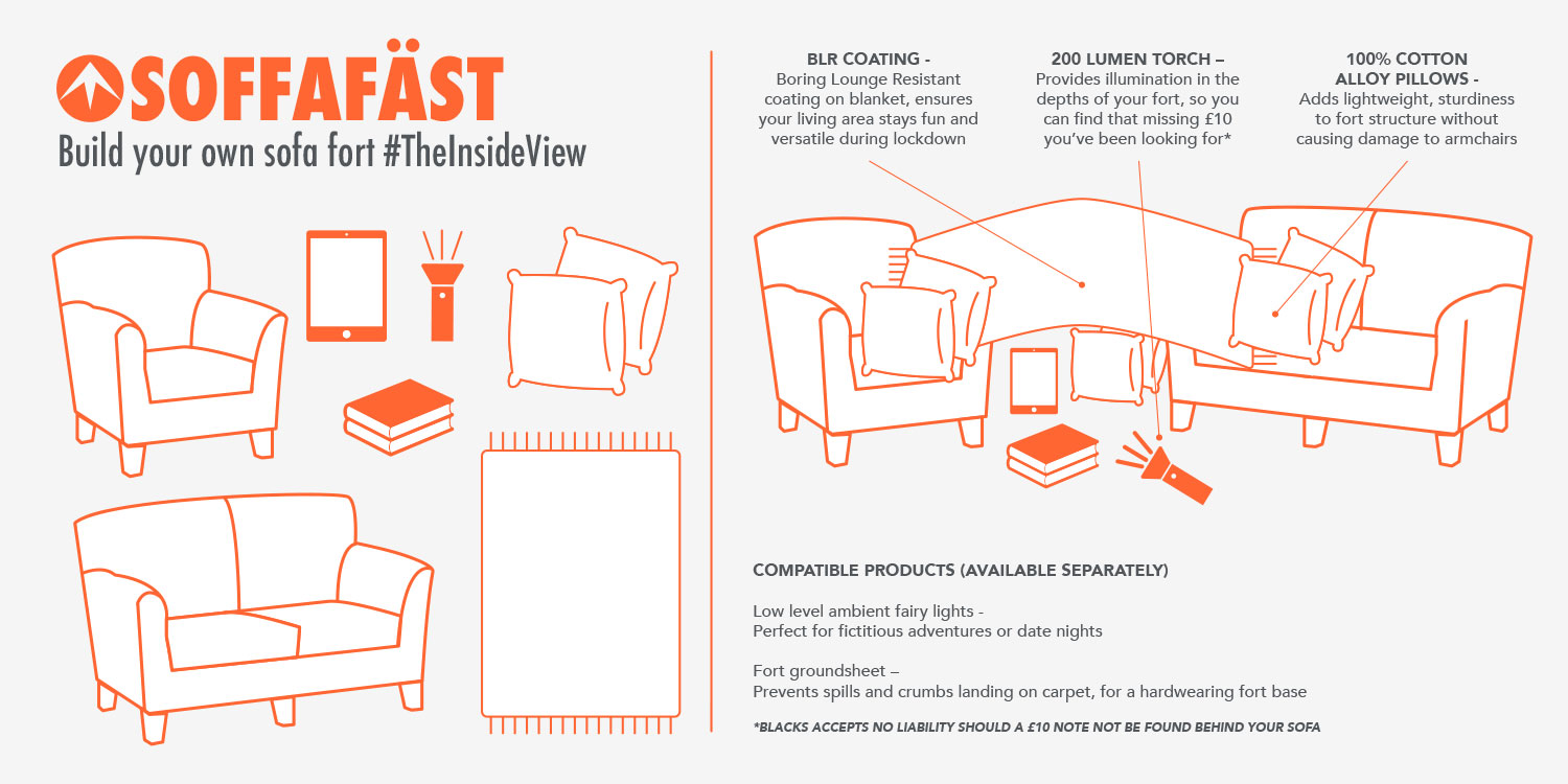 guide to building a sofa fort