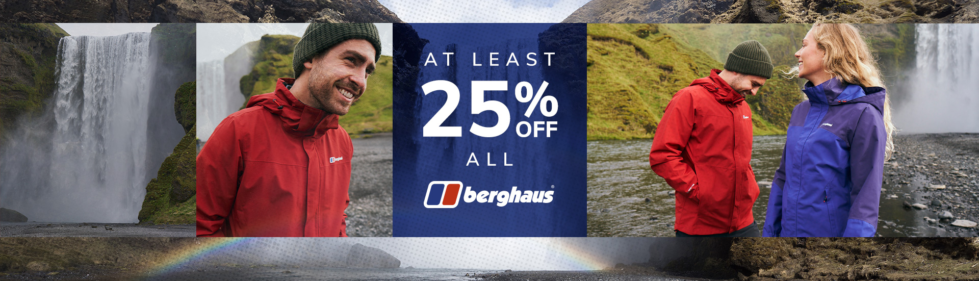 25% Off Berghaus