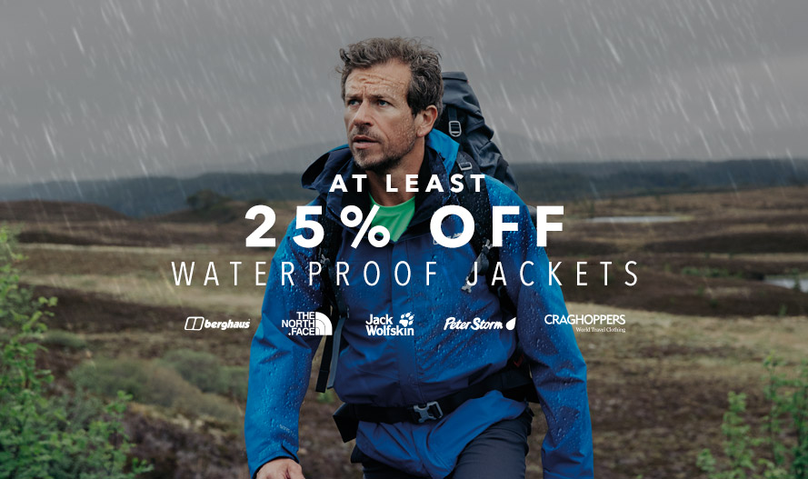 At Least 25% Off Waterproof Jackets