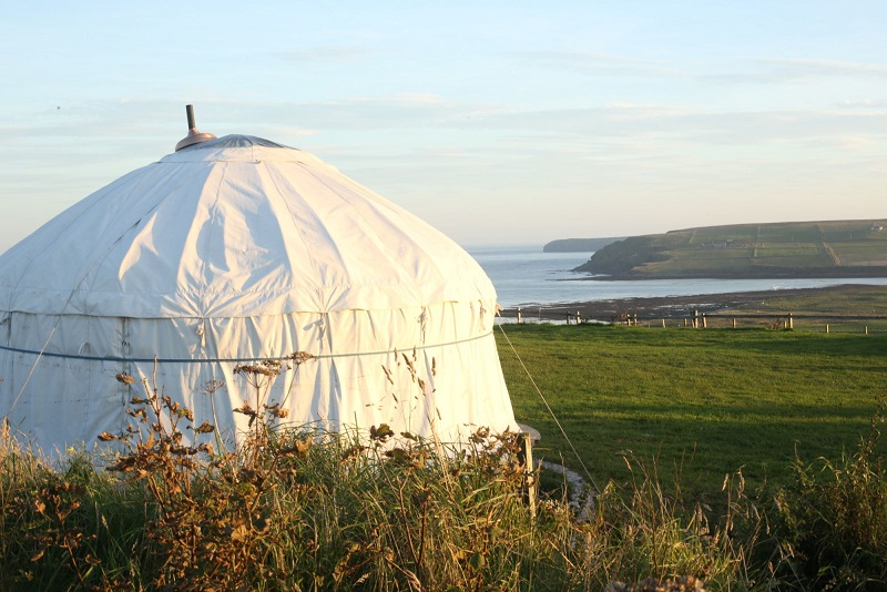 Coastal Campsites -Wheems Farm, Orkney