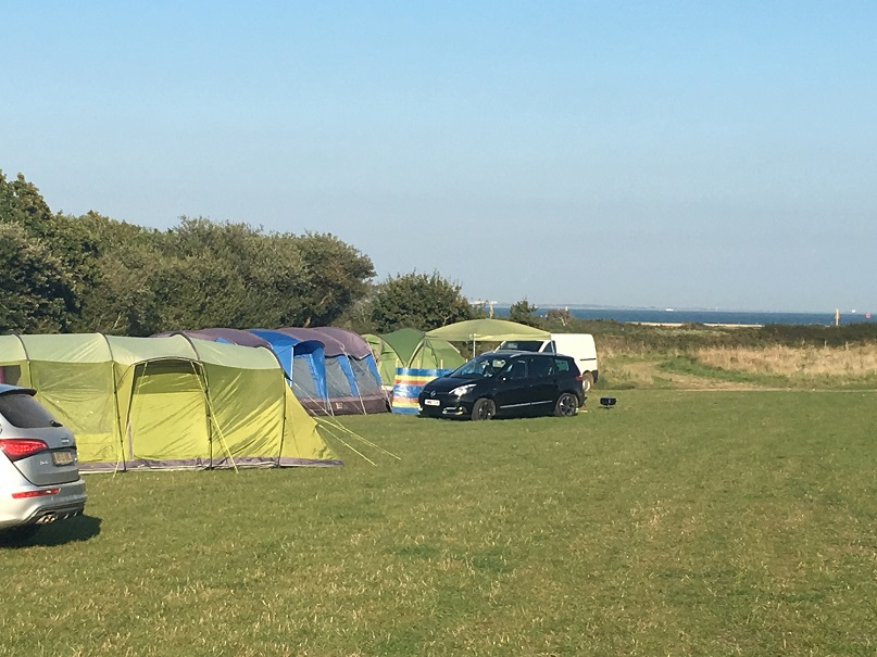 Coastal Campsites- Lepe Beach Campsite, Hampshire