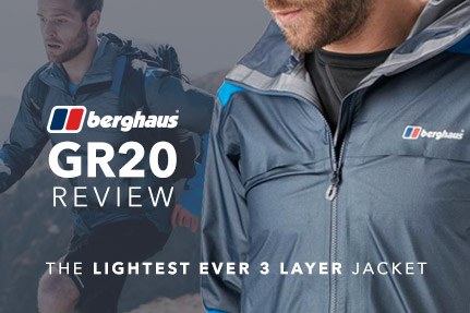 Testing the Berghaus GR20 Storm Jacket