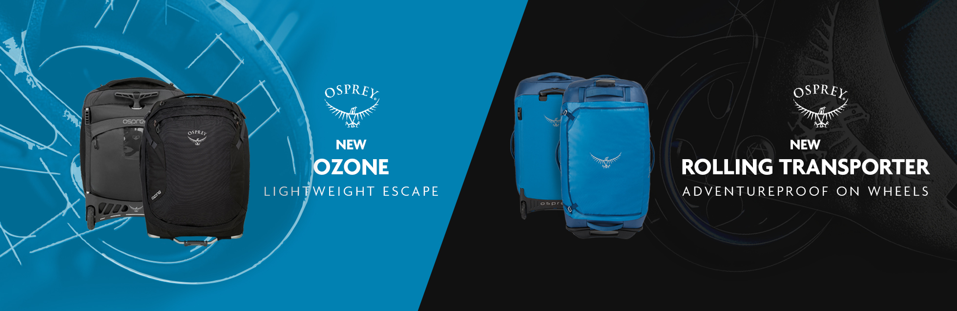 New Osprey Ozone And Rolling Transporter