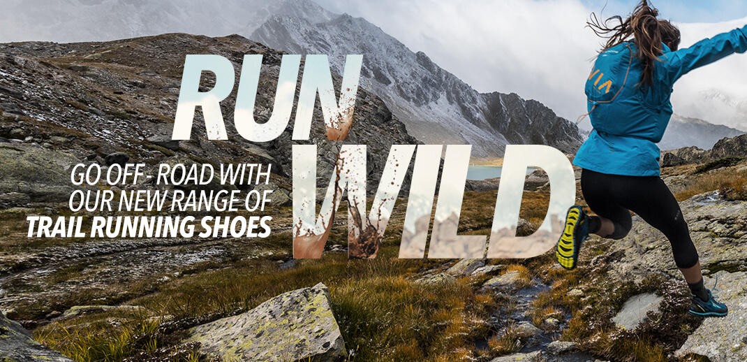 Run Wild - Go Off Road With Our New Range Of Trail Running Gear